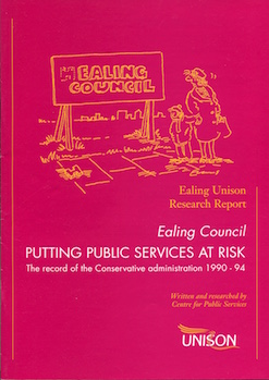 Ealing Council Services At Risk