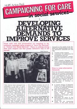 Developing Alternative Demands