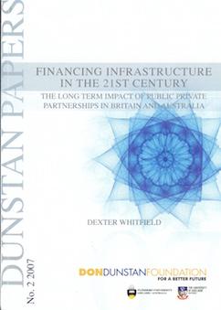 Financing Infra Aust
