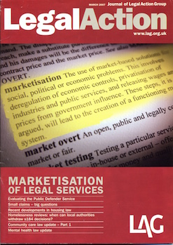 Marketisation Legal Services