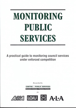 Monitoring Public Services